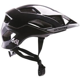 SixSixOne EVO AM MIPS Cykelhjelm, metallic black